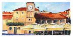 Trogir, Croatia Bath Towel