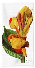 Tropical Bouquet-flower One Bath Towel