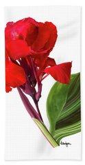 Tropical Bouquet-flower Three Bath Towel