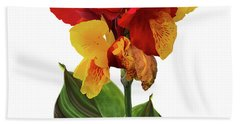 Tropical Bouquet-flower Two Hand Towel