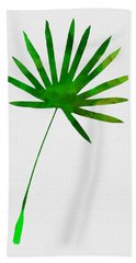 Tropical Chamaerops Leaf I Hand Towel
