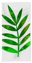 Tropical Leaf 3 Hand Towel