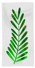 Tropical Leaf II Hand Towel