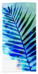 Tropical Leaf Watercolor I Hand Towel