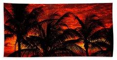 Tropical Sunrise Hand Towel