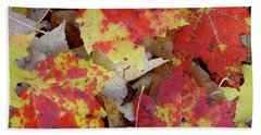 True Autumn Colors Bath Towel