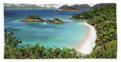 Trunk Bay Hand Towel