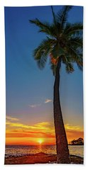 Tuesday 13th Sunset Bath Towel