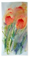 Tulip Dance Bath Towel
