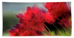 Tulips In The Wind Bath Towel