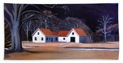 Tunnel Farmhouse At Rumney Depot New Hampshire Hand Towel