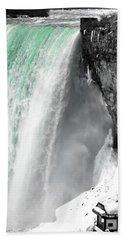 Turquoise Falls Bath Towel