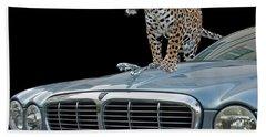 Two Jaguars 1 Bath Towel
