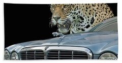 Two Jaguars 2 Bath Towel
