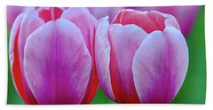 Two Tulips Hand Towel
