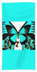 U Is For Ulysses Butterfly Bath Towel