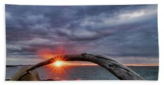 Under The Arch, Sunset Hand Towel