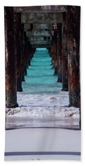 Under The Pier #3 Opf Hand Towel