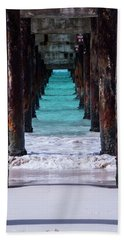 Under The Pier Hand Towel