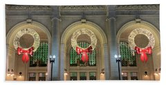 Union Station Holiday Hand Towel
