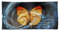Universal Butterfly Hand Towel