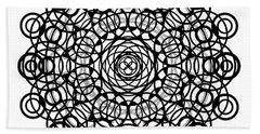 Untitled  Mandala Bath Towel
