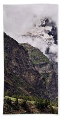 Hand Towel featuring the photograph Up In The Clouds by Whitney Goodey