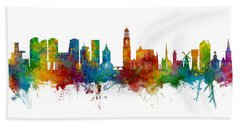 Utrecht The Netherlands Skyline Hand Towel