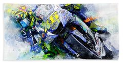 Valentino Rossi - 20 Hand Towel