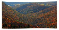 Bath Towel featuring the photograph Valley Below Mount Greylock 2 by Raymond Salani III