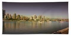 Vancouver In Magical Hours Hand Towel