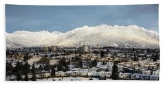 Vancouver Winterscape Bath Towel