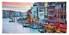 Venetian Sunset Hand Towel