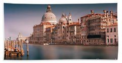 Venice Grand Canal Hand Towel