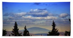 Bath Towel featuring the photograph Vermont From Mount Greylock Summit by Raymond Salani III