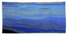 Bath Towel featuring the photograph Vermont From The Summit Of Mount Greylock 3 by Raymond Salani III