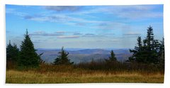Bath Towel featuring the photograph Vermont From The Summit Of Mount Greylock by Raymond Salani III