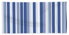 Vertical Lines Background - Dde605 Bath Towel