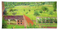 View From My Window, Eragny-sur-epte - Digital Remastered Edition Bath Towel