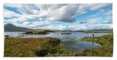 View In Glencoe, Scotland Hand Towel