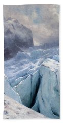 View Of Mont Blanc,1896 Hand Towel