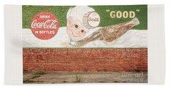 Vintage Drink Coca Cola Hand Towel