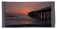 Virginia Beach Sunrise Hand Towel