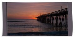 Virginia Beach Sunrise Hand Towel