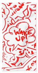 Wake Up Bath Towel