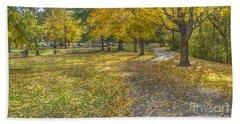 Walk In The Park @ Sharon Woods Hand Towel