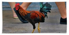 Walk Like A Chicken Bath Towel