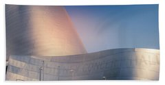 Walt Disney Concert Hall, California Bath Towel