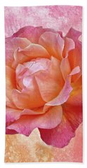 Warm And Crunchy Rose Hand Towel