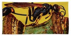 Wasp Just Had Enough Hand Towel